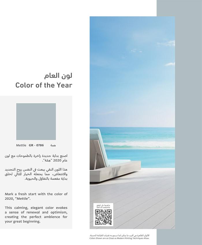 لون العام 2020 - همة - معلم بويات بجدة